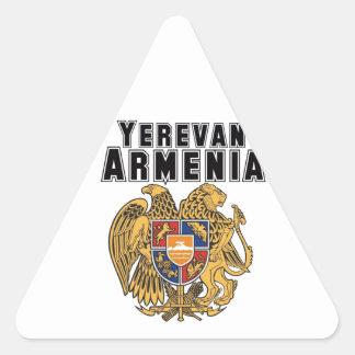 Rep Ya Hood Custom Armenia Triangle Sticker