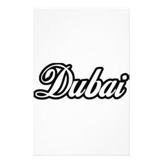 Rep Ya Hood Custom Dubai Stationery Design