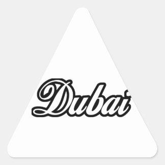 Rep Ya Hood Custom Dubai Triangle Sticker