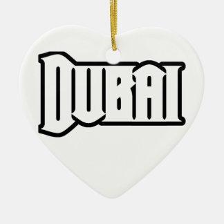 Rep Ya Hood  Custom Dubai, UAE Ceramic Heart Decoration