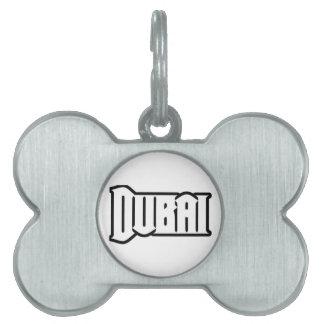 Rep Ya Hood  Custom Dubai, UAE Pet ID Tags