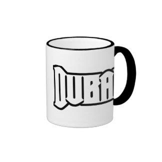 Rep Ya Hood  Custom Dubai, UAE Ringer Mug