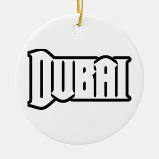 Rep Ya Hood  Custom Dubai, UAE Round Ceramic Decoration