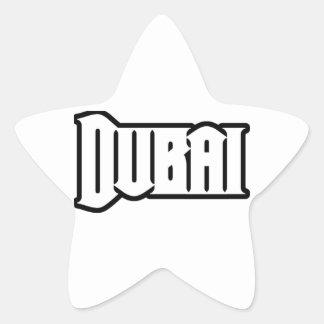 Rep Ya Hood Custom Dubai UAE Star Stickers