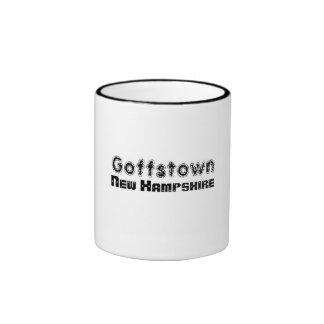 Rep Ya Hood Custom Goffstown, New Hampsire Ringer Mug