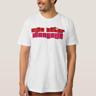 Rep Ya hood  Custom Mongolia T-Shirt