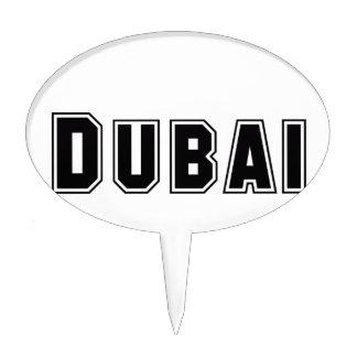 Rep Ya Hood Custom United Arab Emirates Dubai Cake Topper