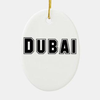 Rep Ya Hood Custom United Arab Emirates, Dubai Ceramic Oval Decoration