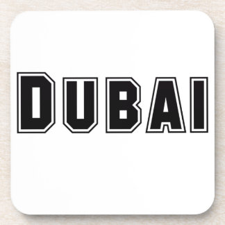 Rep Ya Hood Custom United Arab Emirates Dubai Drink Coasters