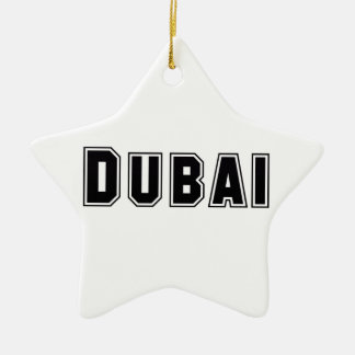 Rep Ya Hood Custom United Arab Emirates Dubai Ornament