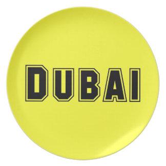Rep Ya Hood Custom United Arab Emirates, Dubai Party Plate