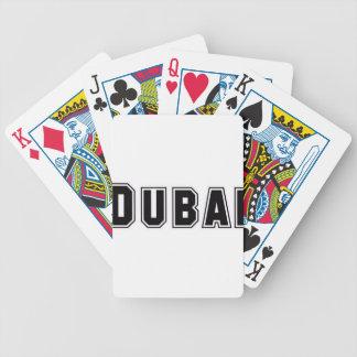 Rep Ya Hood Custom United Arab Emirates Dubai Bicycle Poker Deck
