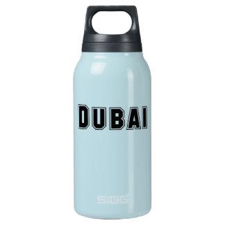 Rep Ya Hood Custom United Arab Emirates, Dubai 10 Oz Insulated SIGG Thermos Water Bottle