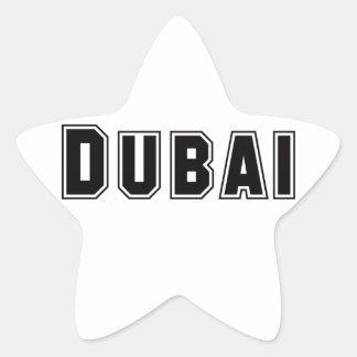 Rep Ya Hood Custom United Arab Emirates, Dubai Star Sticker