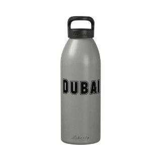 Rep Ya Hood Custom United Arab Emirates Dubai Reusable Water Bottle