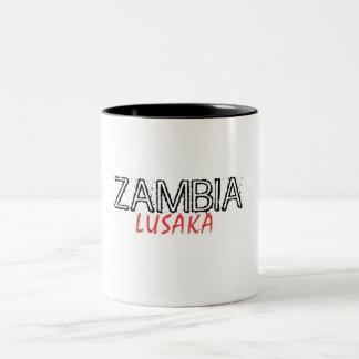 Rep Ya Hood Zambia Custom Two-Tone Coffee Mug