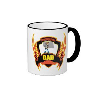 Repairman Dad Fathers Day Gifts Ringer Mug