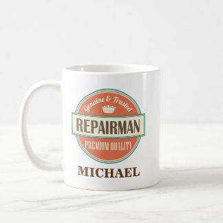 Repairman Personalized Office Mug Gift