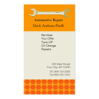 Repairs Tool Card Wrench Pack Of Standard Business Cards