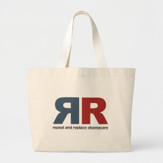 Repeal And Replace Obamacare Tote Bags