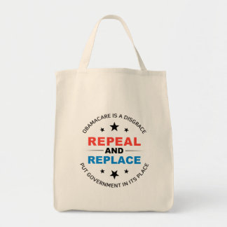 Repeal And Replace Canvas Bag