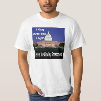 Repeal Bradley Congressional Value Tee
