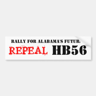 Repeal HB56 Bumper Sticker