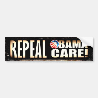 REPEAL OBAMA CARE OBAMACARE BUMPER STICKER