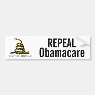 Repeal Obamacare Bumper Sticker