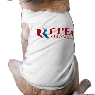 REPEAL OBAMACARE PET T-SHIRT
