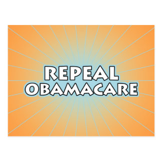 Repeal Obamacare Postcard