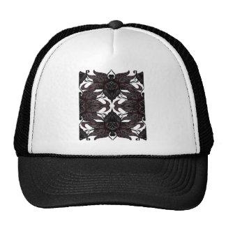 REPEAT PATERN MESH HATS