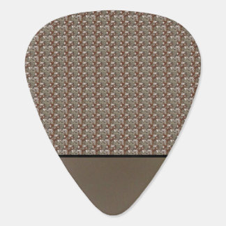 Repeating Brown and Gray Pick