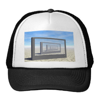 Repeating Monitor Trucker Hat