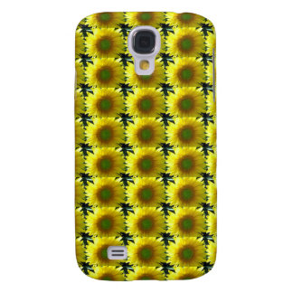 Repeating Sunflowers Galaxy S4 Case