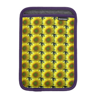 Repeating Sunflowers iPad Mini Sleeve
