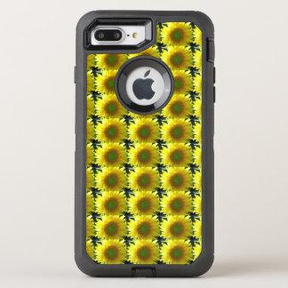 Repeating Sunflowers OtterBox Defender iPhone 7 Plus Case