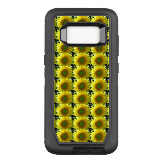 Repeating Sunflowers OtterBox Defender Samsung Galaxy S8 Case