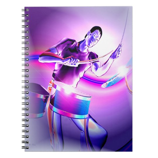 Repercussion - Purple Drummer Notebooks
