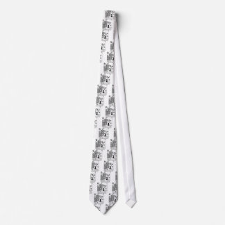 Repetitive Motion Head Banging Tie