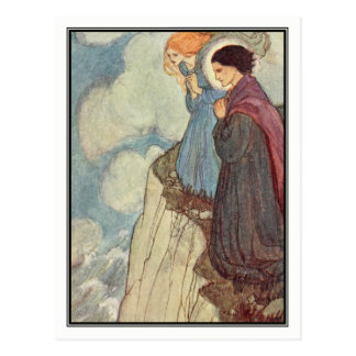 Repining by Florence Harrison Postcard