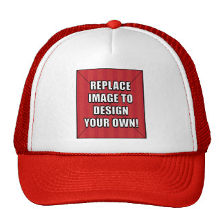 Replace Image to Design Your Own! Cap