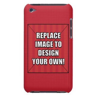 Replace Image to Design Your Own Barely There iPod Covers