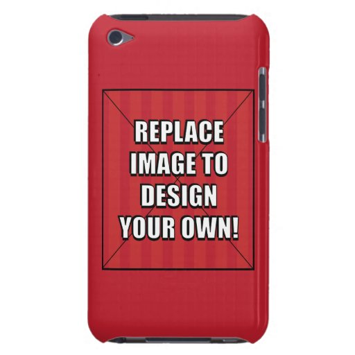 Replace Image to Design Your Own! Barely There iPod Covers