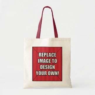 Replace Image to Design Your Own! Budget Tote Bag