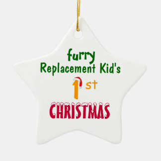 Replacement Kid's 1'st CHRISTMAS Christmas Ornament
