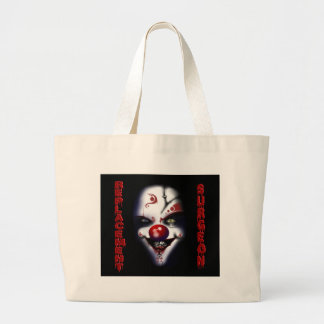 Replacement Surgeon - Evil Clown Jumbo Tote Bag