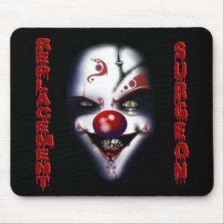 Replacement Surgeon - Evil Clown Mouse Pad