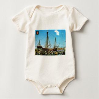 "Replica Caravel, ""Santa Maria"" Columbus flagship Baby Bodysuit"