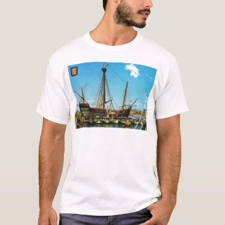 "Replica Caravel, ""Santa Maria"" Columbus flagship T-Shirt"